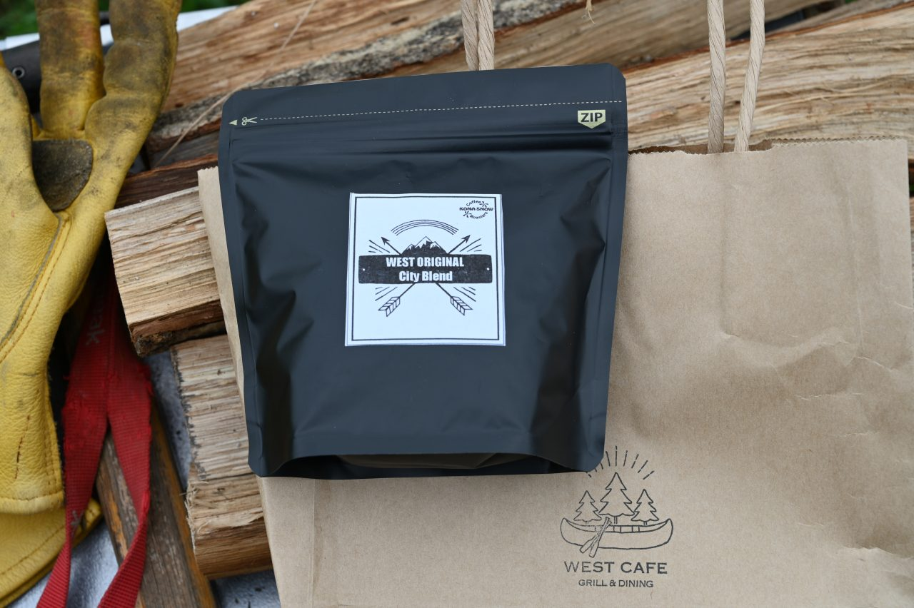 WEST CAFEで購入したコーヒー豆「シティブレンド」