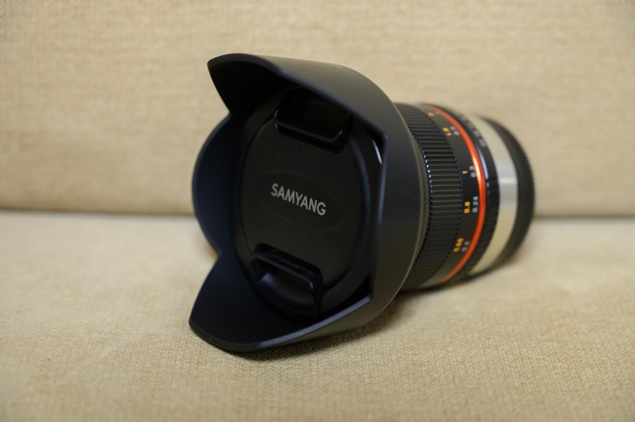 軽量コンパクトなSamyang 12mm f2.0