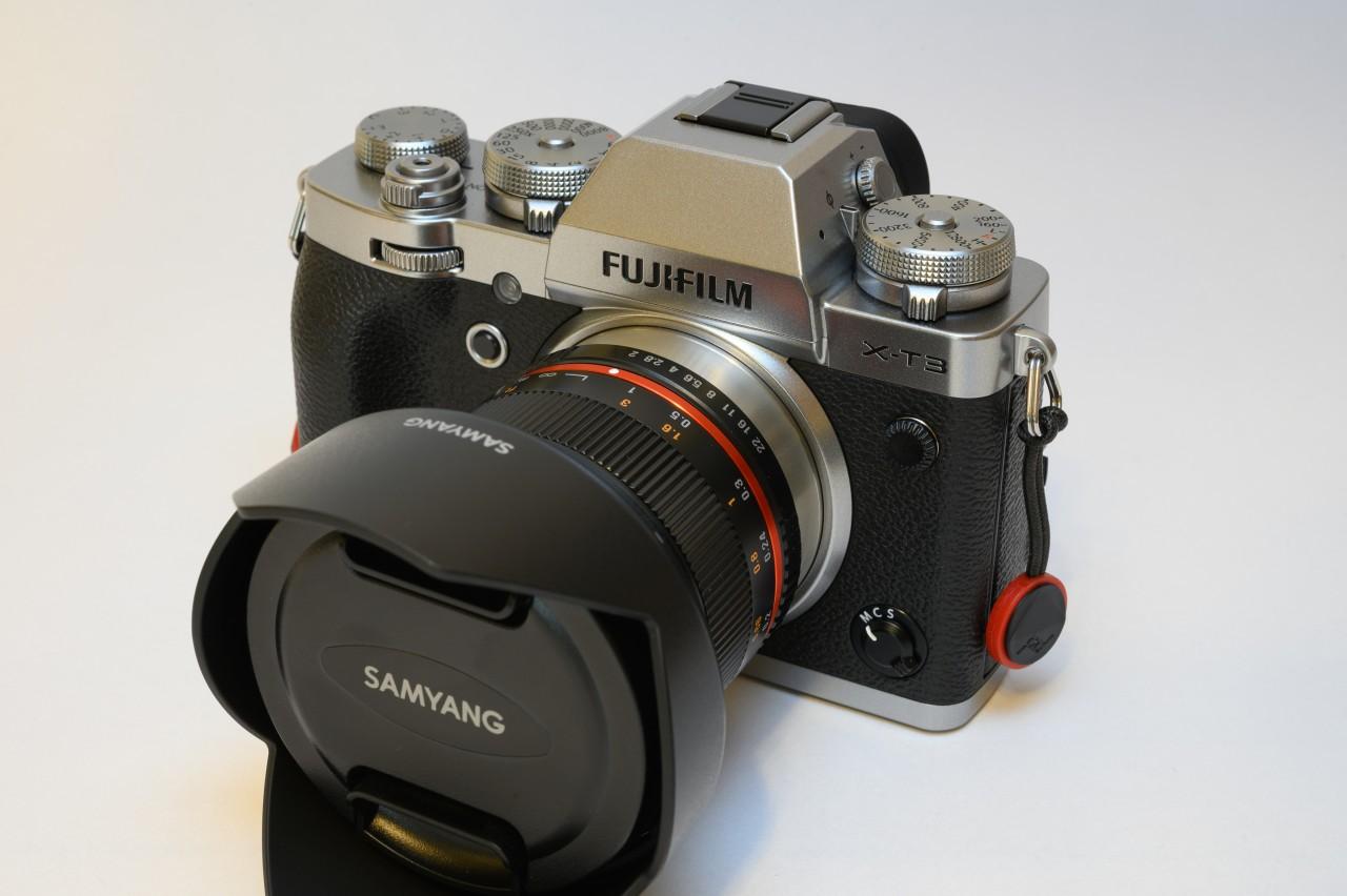 動画撮影と星空撮影に使用している富士フイルムX-T3