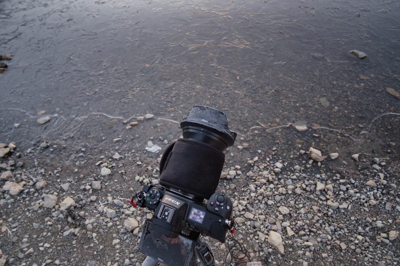 真冬の撮影時はリグの冷たさに要注意