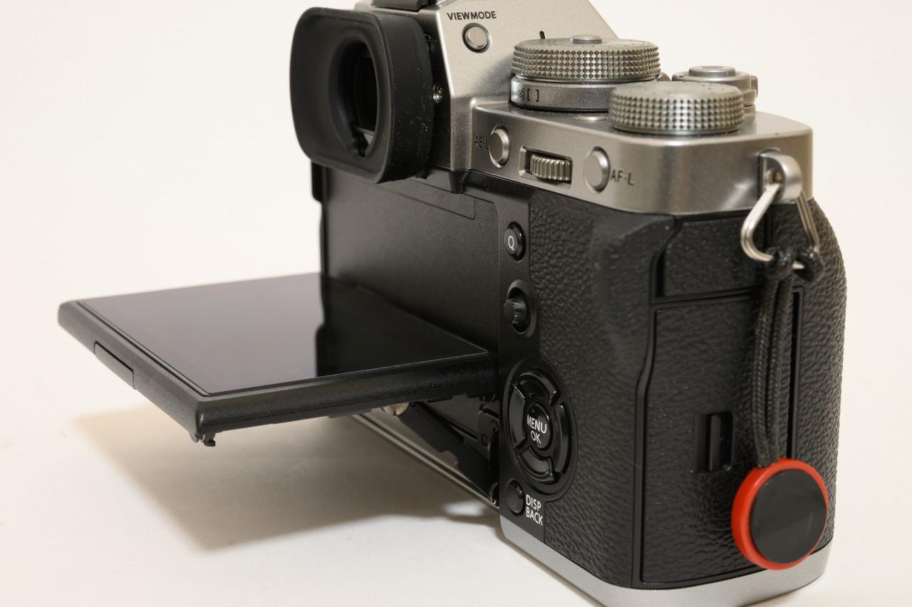X-T3のチルト液晶は写真を撮るには便利