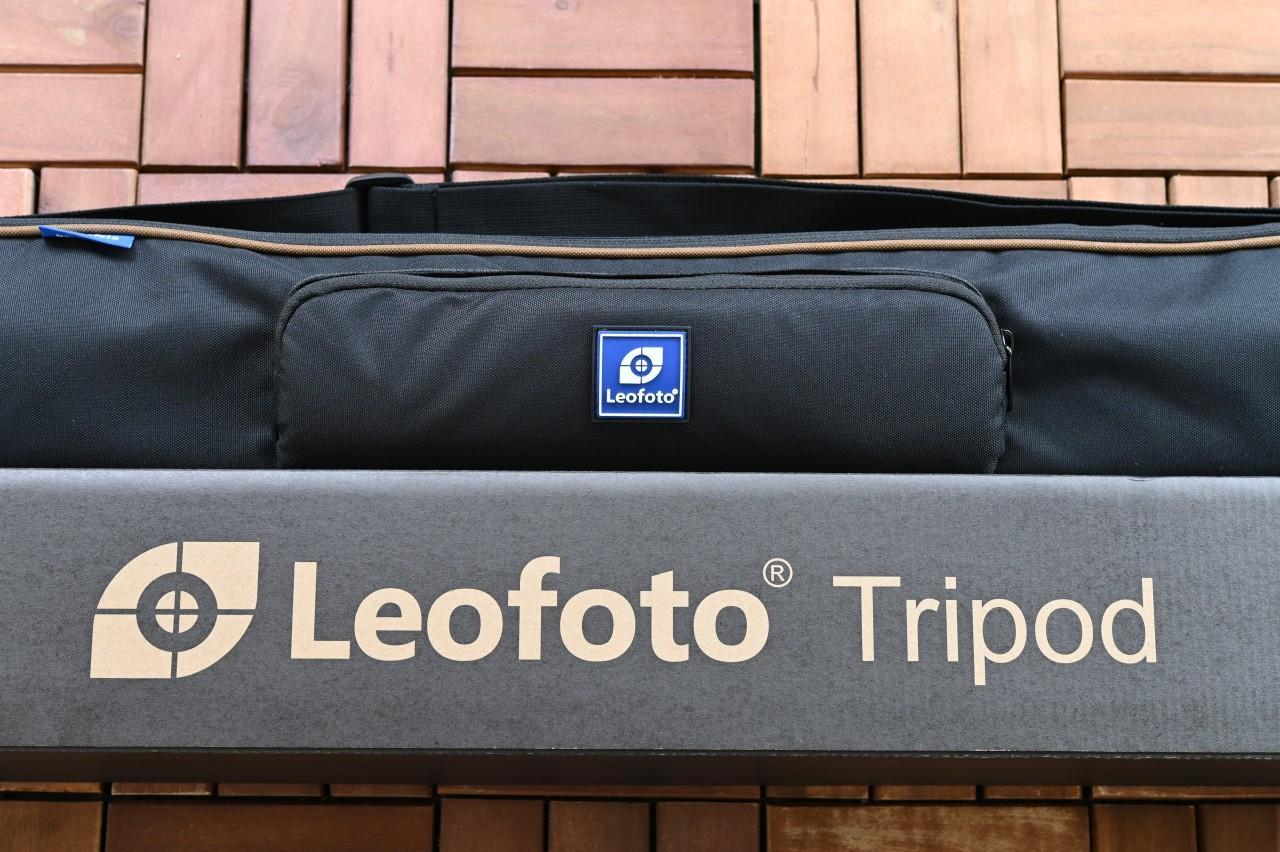 カーボン三脚「Leofoto LS-323C」