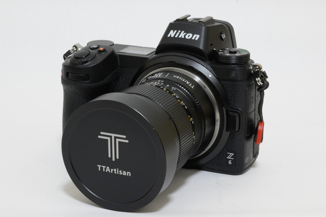 NIKON Z6とTTArtisan 11mm f2.8 Fisheye