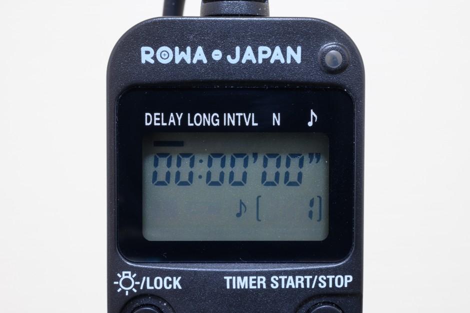ロワジャパンのタイマーレリーズでインターバルタイマー撮影が捗る