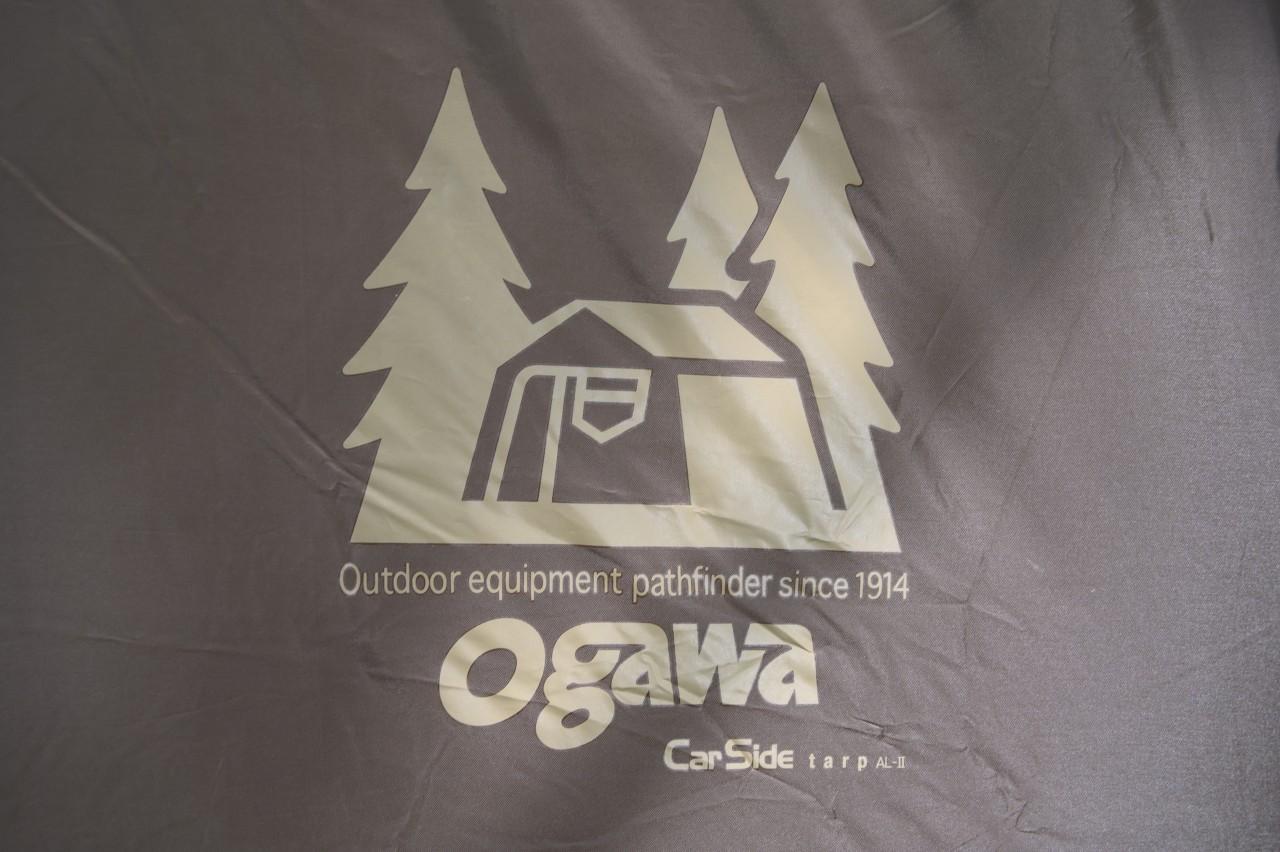 ogawaカーサイドタープAL-IIのロゴ