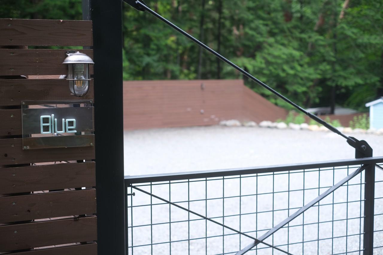camp24白州フィールドの一番大きなBlueサイト