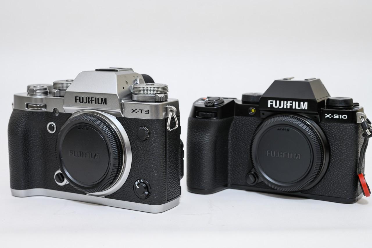 FUJIFILM X-T3からX-S10に買い替え