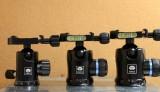 アルカスイス互換の自由雲台SIRUI G-10KX K-10X K-20Xを比較