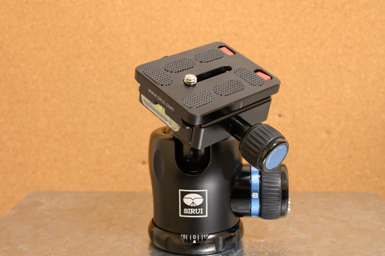 SIRUI K-20Xは重量級機材にも耐えられる強度あり