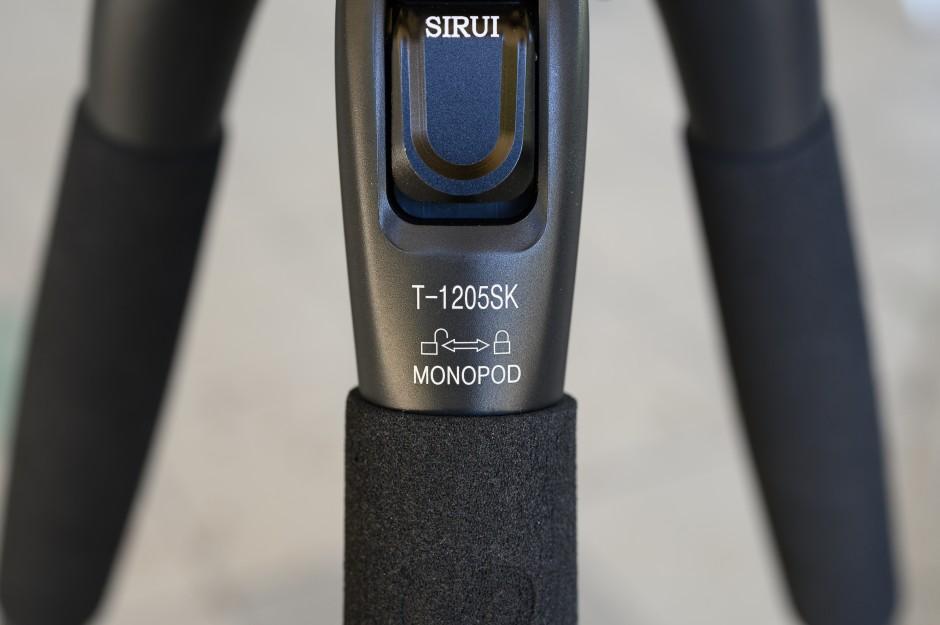 SIRUI T-1205SKは一脚としても利用可能