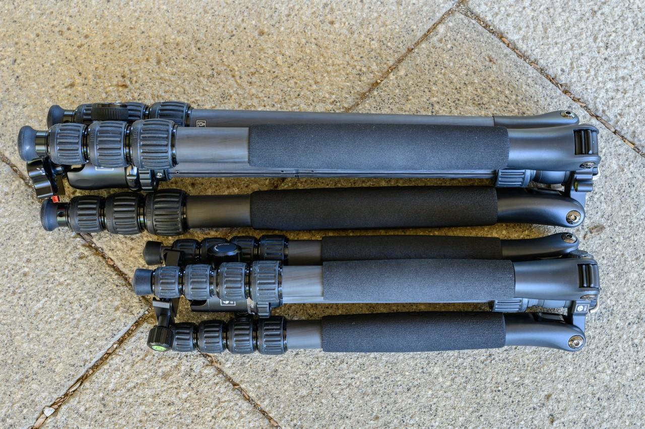 SIRUI T-1205SKとN-2204SKを比較