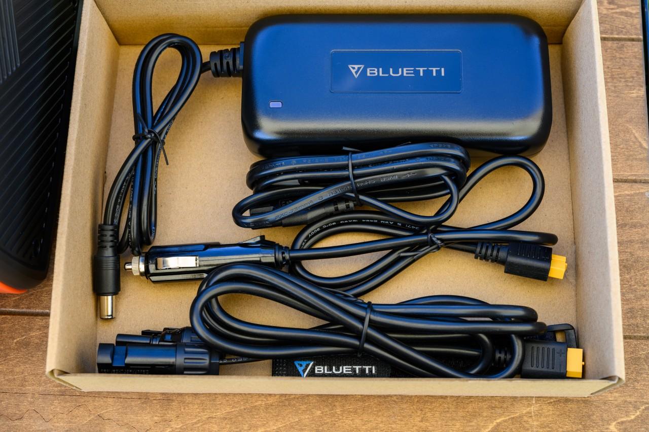 ポータブル電源「BLUETTI EB55」の付属品